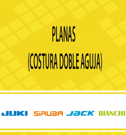 Planas (Costura doble Aguja)